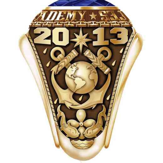 Massachusetts Maritime Academy 2013 Women's Traditional Ring