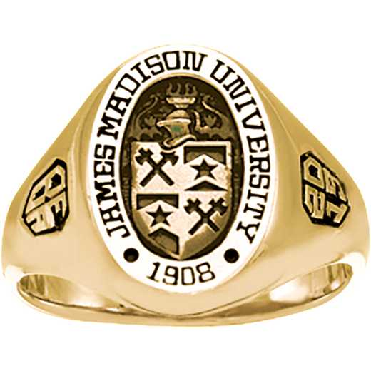 James Madison University Class of 2019 Women's 345S Signet Ring