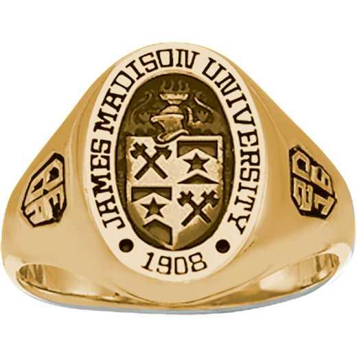 James Madison University Class of 2016 Women's 345S Signet Ring