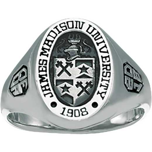 James Madison University Class of 2018 Women's 345S Signet Ring
