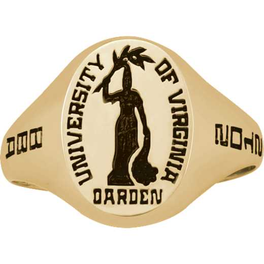 University of Virginia Darden School of Business Women's Small Signet Ring