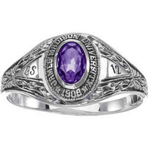 James Madison University Class of 2012 Women's Bouquet Ring
