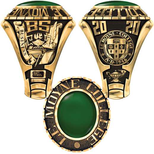 Le Moyne College Men's Traditional (876L1) Ring