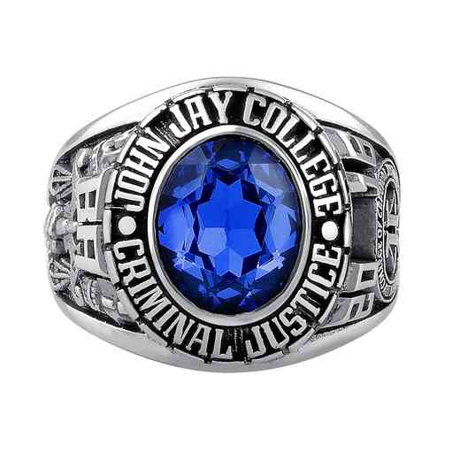 John Jay College of Criminal Justice Traditional 876L1 Ring