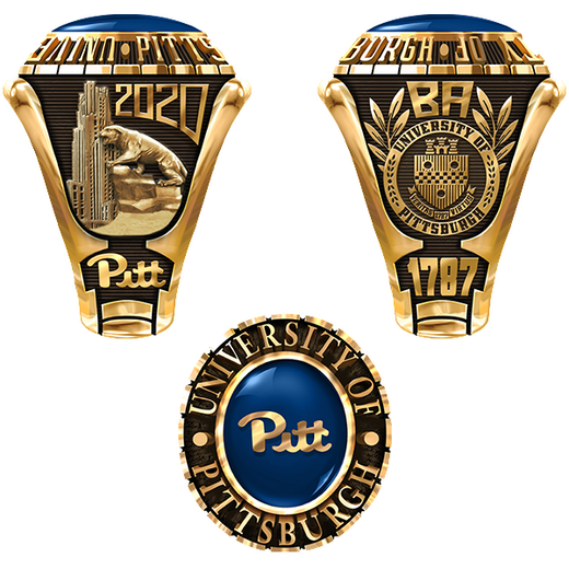 University Of Pittsburgh Class Rings Yearbooks And Graduation