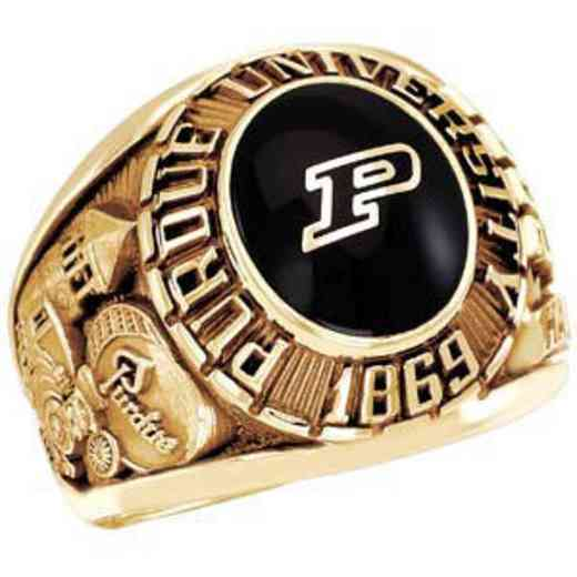 Purdue University Follett West Bookstore Men's Traditional Ring