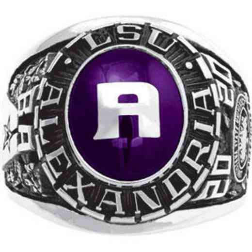 Louisiana State University at Alexandria Men's 876L1 Ring