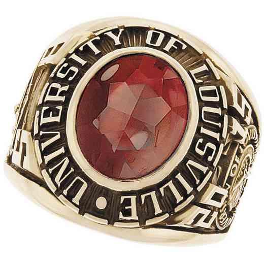 University of Louisville Men's Medium Traditional Ring