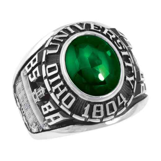 Ohio University College Bookstore Men's Traditional V2 Ring