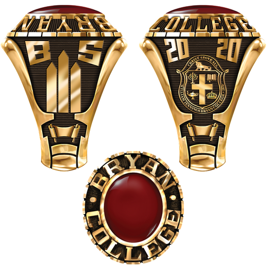 Bryan College Men's Traditional 876L2 Ring