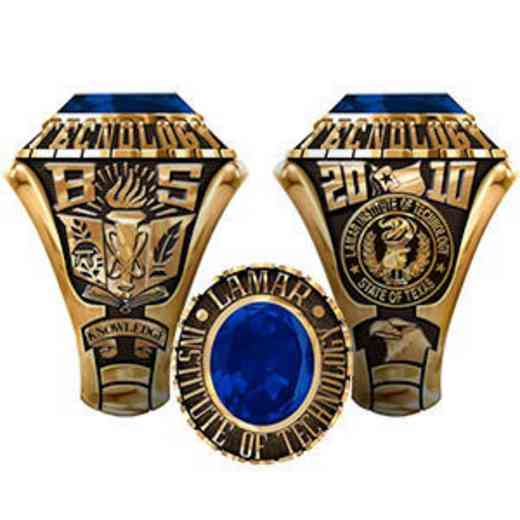 Lamar Institute of Technology Men's Traditional Ring
