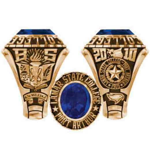 Lamar State College at Port Arthur Men's Traditional Ring