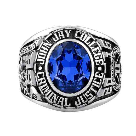 John Jay College of Criminal Justice Large Traditional (876Pl1) Ring