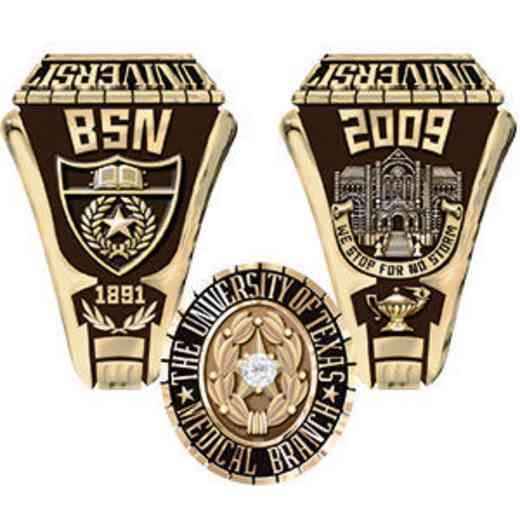 University of Texas Medical Branch Men's Traditional Ring