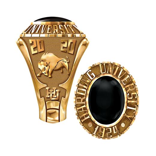 Harding University Women's 876S1 Traditional Ring