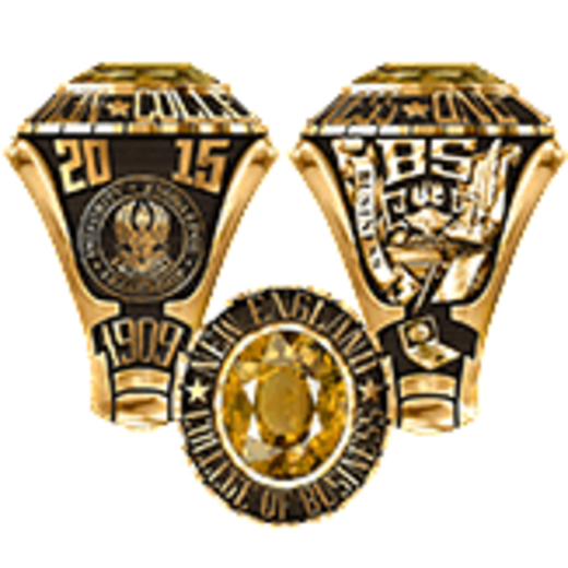 New England College of Business Women's Small Traditional Ring