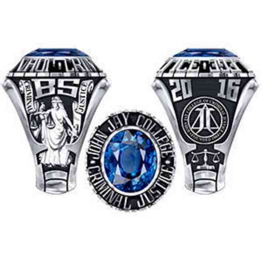 John Jay College Women's Traditional Ring
