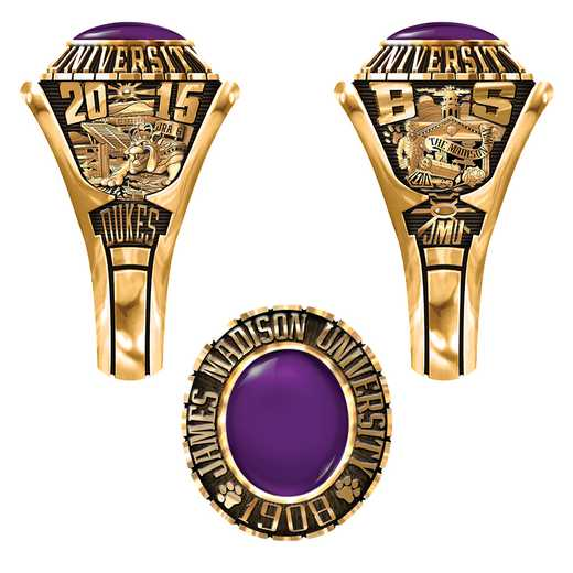James Madison University Class of 2015 Women's 876Xs Traditional Ring