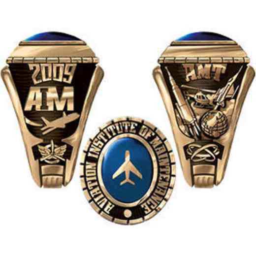 Aviation Institute of Maintenance Women s Extra Small Traditional Ring a993b35770