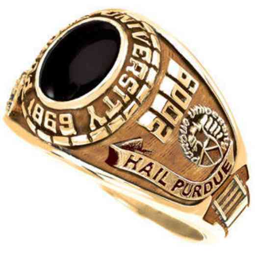 Purdue University Follett West Bookstore Women's Small Traditional Ring