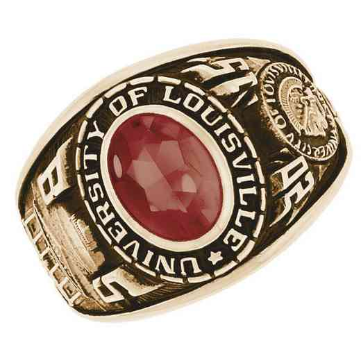 University of Louisville Women's Extra Small Traditional Ring
