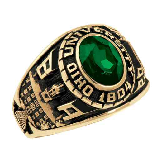 Ohio University College Bookstore Women's Traditional V2 Ring