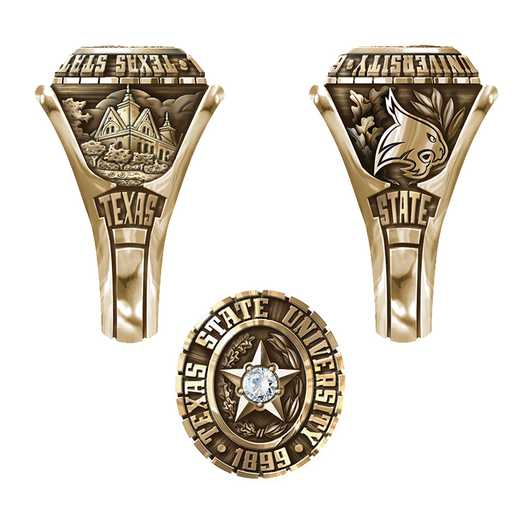 Texas State University San Marcos Women's Traditional Ring