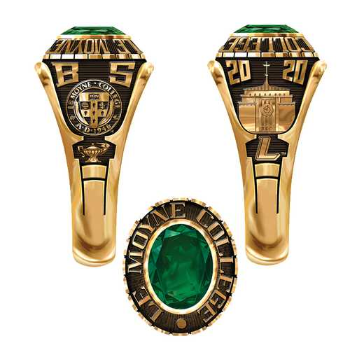 Le Moyne College Women's Extra Small Traditional (876Xx1) Ring