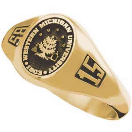 Western Michigan University Women's Laurel Ring