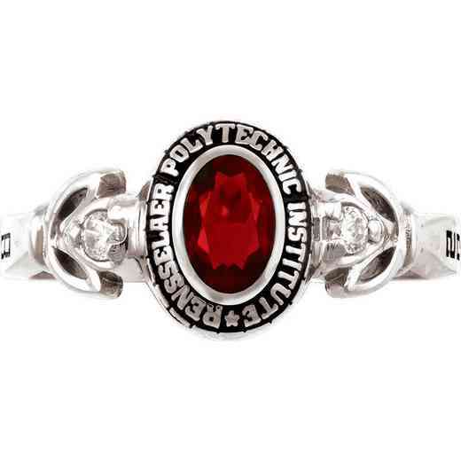 Rensselaer Polytechnic Institute Class of 2014 Women's Twilight Ring with Cubic Zirconias