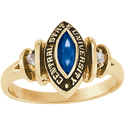 John Jay College of Criminal Justice Duet Ring