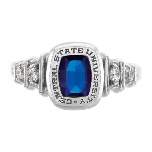 East Tennessee State University Gatton College of Pharmacy Women's Highlight Ring with Diamonds