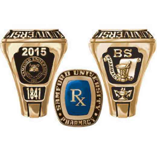 Samford University - McWhorter School of Pharmacy Men's Legend Ring