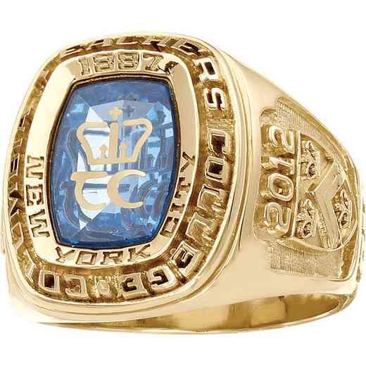 Columbia University Teacher's College Men's Legend Ring