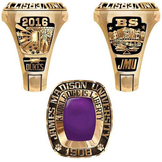 James Madison University Class of 2016 Men's Legend Ring