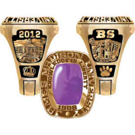 James Madison University Class of 2012 Men's Legend Ring