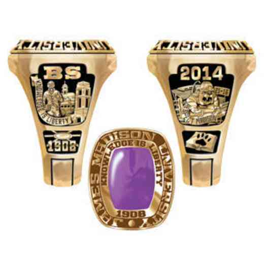 James Madison University Class of 2014 Men's Legend Ring