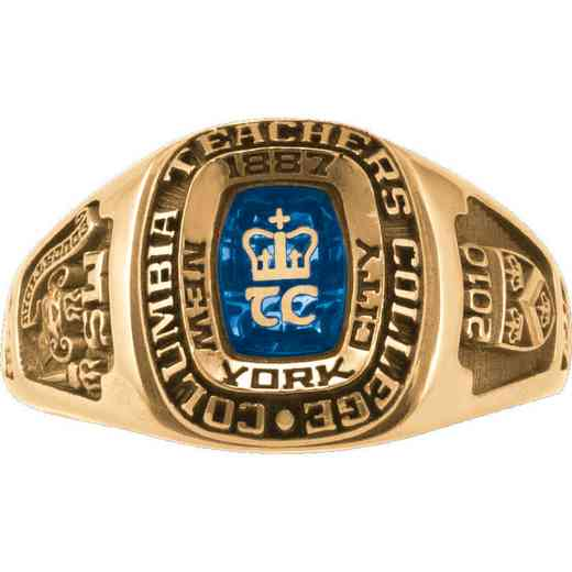 Columbia University Teacher's College Lady Legend Ring