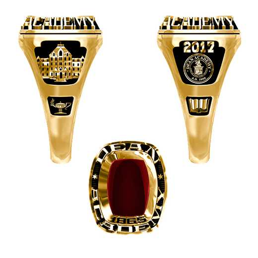 Dean Academy Women's Lady Legend Ring