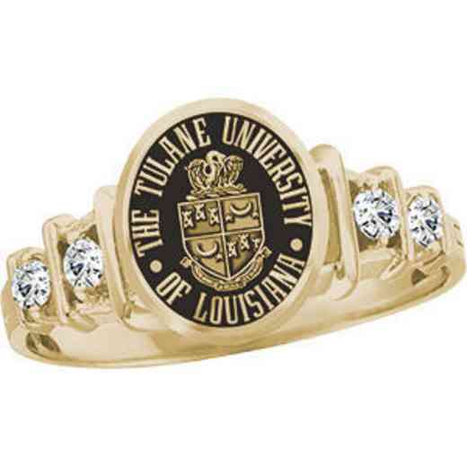 Tulane University Medical School Women's Crescent Ring
