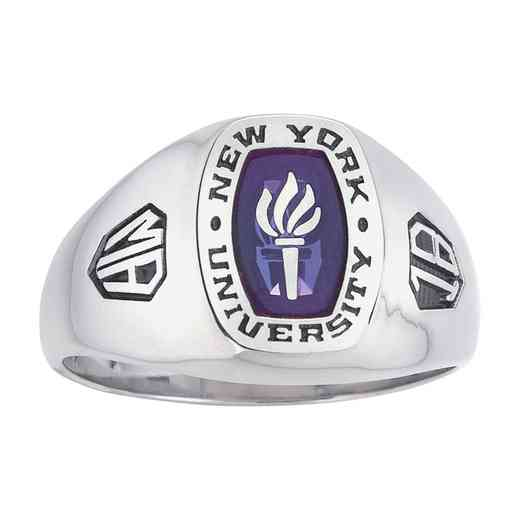 New York University Men's Monarch Ring