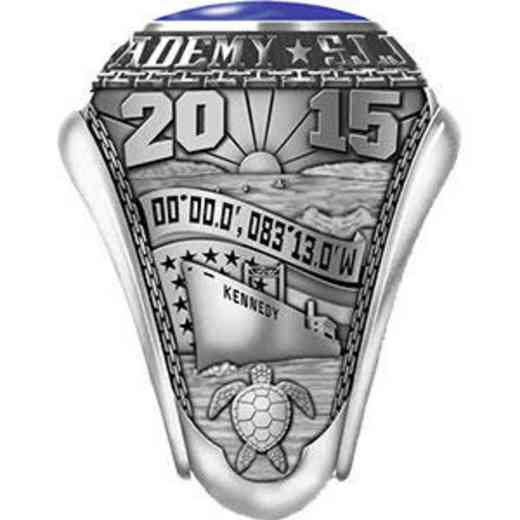 Massachusetts Maritime Academy 2015 Ring