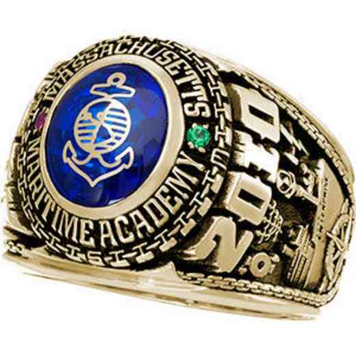 Massachusetts Maritime Academy 2010 Ring