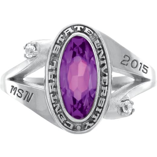 John Jay College of Criminal Justice Symphony Ring