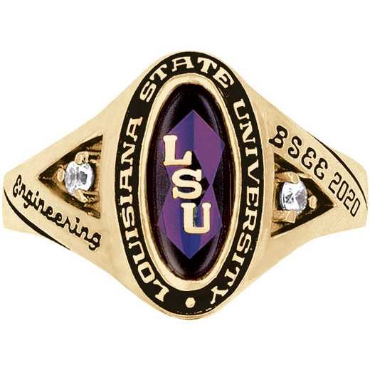 Louisiana State University Signature Ring
