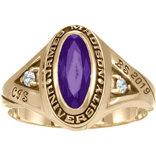 James Madison University Class of 2019 Women's Signature Ring