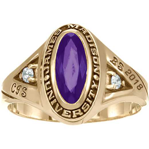 James Madison University Class of 2018 Women's Signature Ring