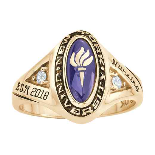 New York University Women's Signature Ring