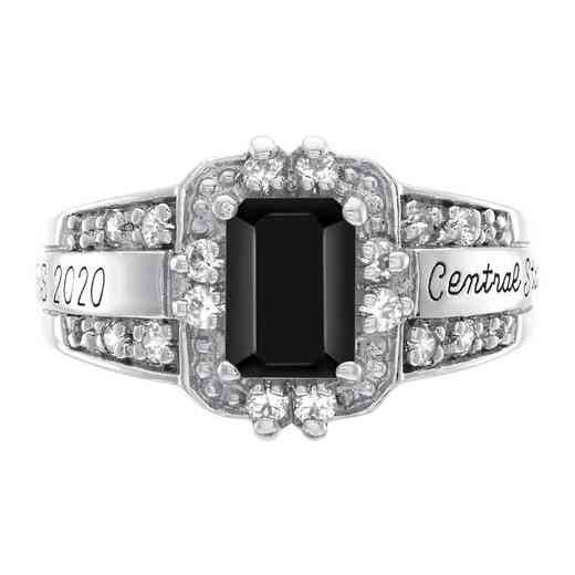 University of North Florida at Jacksonville Women's Illusion Ring