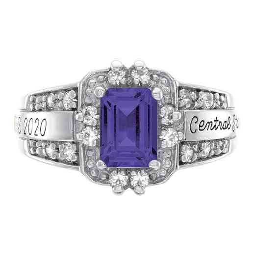 Saint Louis University Latin Women's Illusion Ring